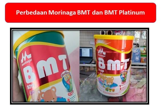 Perbedaan Morinaga BMT dan BMT Platinum